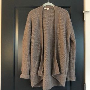 SOFTEST Anthropologie Brown Cocoon Sweater